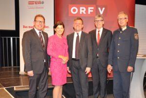 Verleihung des KSÖ-Sicherheitspreises