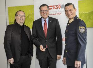 """Raiffeisen-Vorstandsvorsitzender Johannes Ortner ist neues KSÖ Präsidiumsmitglied Ortner: """"Freue mich darauf, viel für die Sicherheit in Tirol bewegen zu können"""""""