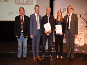 Sicherheitspreis Vorarlberg 2018